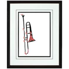 "Walt Disney Melody Time Horn II Print 21 3/4"" High Wall Art"