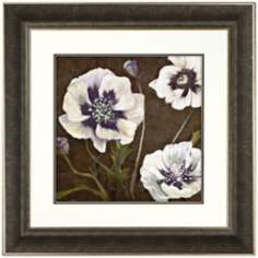 "Walt Disney Fantasia Pansies Framed 30 1/2"" Square Wall Art"