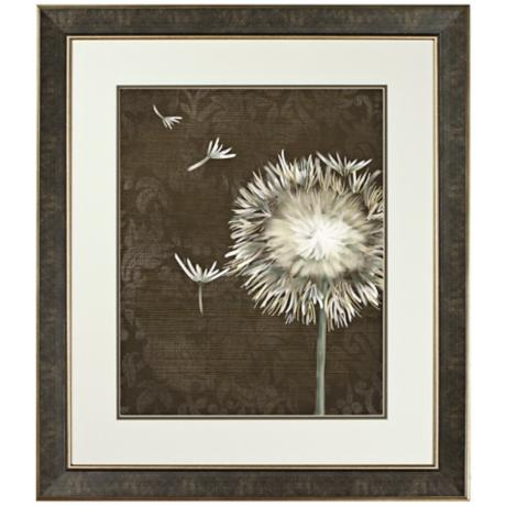 Walt Disney Beauty and The Beast Dandelion Framed Wall Art