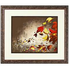 "Walt Disney Melody Time Leaves II Print 30"" High Wall Art"