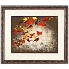 "Walt Disney Melody Time Leaves I Print 30"" High Wall Art"