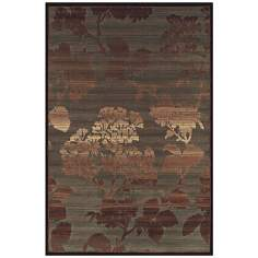 Cliffside Mist Brown Multi Area Rug