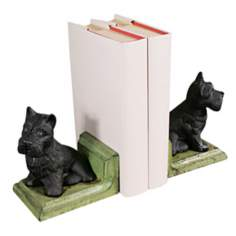 Cast Iron Scottie Dog Bookends