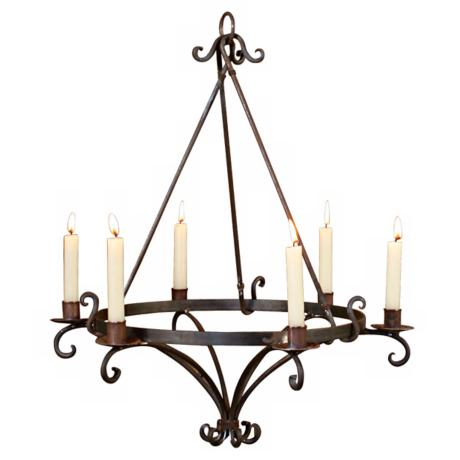 Marrakesh Taper Candelabra Chandelier