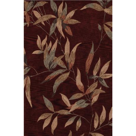 Twilight Garden Cinnamon Area Rug