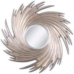 "Uttermost Spiral Flow 38 1/4"" Wide Wall Mirror"