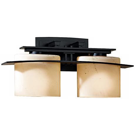 "Hubbardton Forge Arc Ellipse 17"" Wide Bathroom Light"