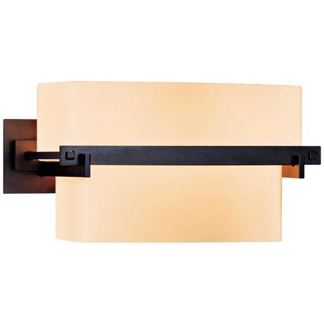 "Kakomi Collection Opal Glass 5"" High Wall Sconce"