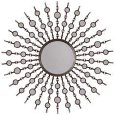 "Uttermost Sahara Sunburst 38"" High Wall Mirror"