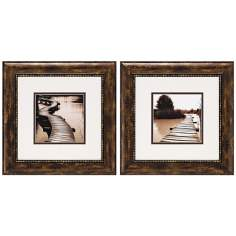 Set of 2 Bridges Wall Art