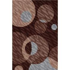 Textured Chocolate Area Rug