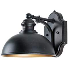 "Vader Collection ENERGY STAR 10 1/2"" High Outdoor Wall Light"