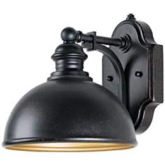 "Vader Collection ENERGY STAR 8 3/4"" High Outdoor Wall Light"