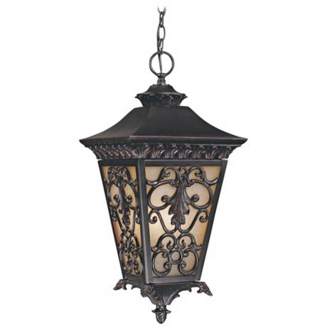 "Bientina Collection 23 1/4"" High Outdoor Hanging Light"