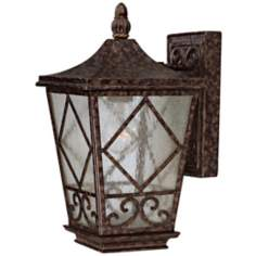 "Felicity Collection 14"" High Outdoor Wall Light"