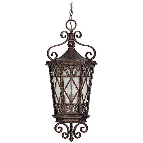 "Felicity Collection 29 1/4"" High Outdoor Hanging Light"
