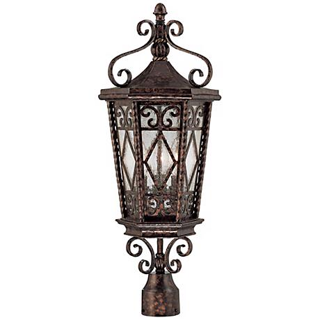 "Felicity Collection 25 1/2"" High Outdoor Post Light"