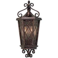 "Felicity Collection 21 3/4"" High Outdoor Pocket Wall Lantern"