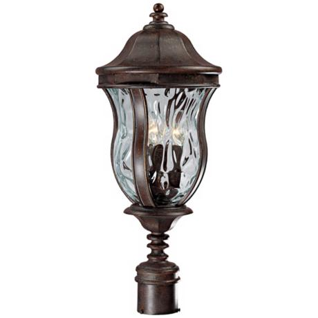 "Monticello Collection 23 1/2"" High Outdoor Post Light"