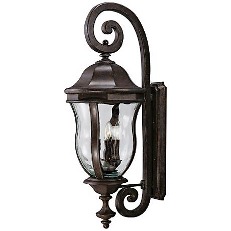 "Monticello Collection 36"" High Large Outdoor Wall Light"