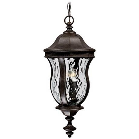 "Monticello Collection 28 1/4"" High Outdoor Hanging Light"