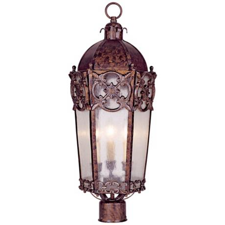 "Torino Collection 25"" High Outdoor Post Light"
