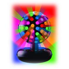 "Rotating Multicolor 10"" Disco Ball"