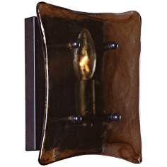 "Uttermost Vetraio Oil Rubbed Bronze 9"" High Wall Sconce"