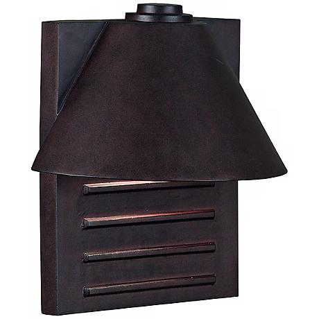 "Fairbanks Dark Sky Bronze Finish 13"" High Outdoor Wall Light"