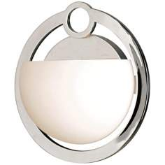 "Nova Chrome 10"" High Bathroom Light Fixture"