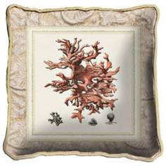 Sea Coral Accent Pillow