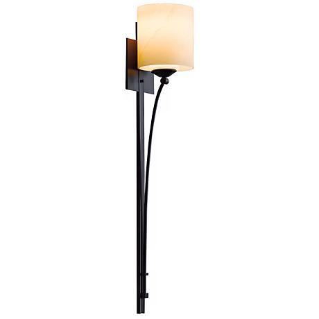"Formae Contemporary Stone Glass 29 1/2"" High Wall Sconce"