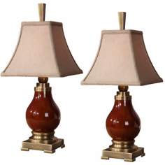 Uttermost Daviel Set of Two Accent Lamps