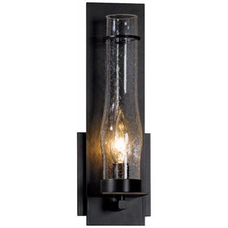"New Town Collection Seedy Glass 12 1/2"" High Wall Sconce"