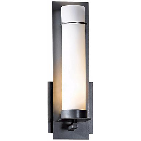 New Town Collection Opal Glass Energy Efficient Wall Sconce
