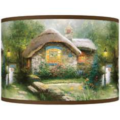 Thomas Kinkade Collector's Cottage Shade 12x12x8.5