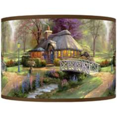 Thomas Kinkade Friendship Cottage Shade 12x12x8.5