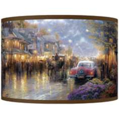 Thomas Kinkade Mountain Memories Shade 12x12x8.5
