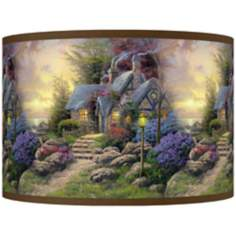 Thomas Kinkade Seaside Hideaway Shade 12x12x8.5