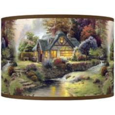 Thomas Kinkade Stillwater Cottage Shade 12x12x8.5