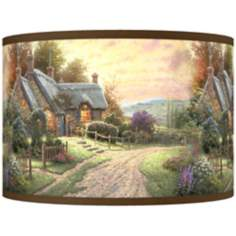 Thomas Kinkade A Peaceful Time Shade 12x12x8.5