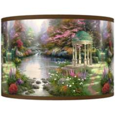 Thomas Kinkade The Garden of Prayer Shade 12x12x8.5