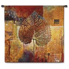 "Fall Harvest 35"" Square Wall Tapestry"