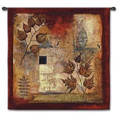 "Evanescent Autumn 35"" Square Wall Tapestry"