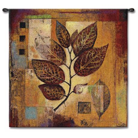 "Autumnal Modernity 35"" Square Wall Tapestry"