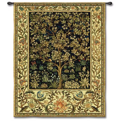 "Tree Alive 71"" High Wall Tapestry"