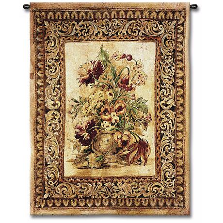 "Fiore 53"" High Wall Tapestry"