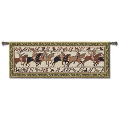 "Bayeux 76"" Wide Wall Tapestry"