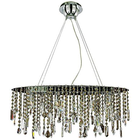 "Divine Ice Collection 25 1/2"" Wide Pendant Chandelier"