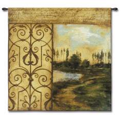 "Words in the Wind 53"" Square Wall Tapestry"